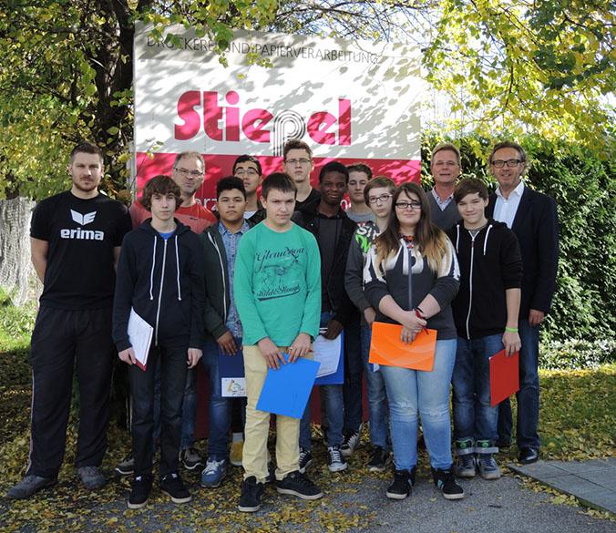 Polytechnische Schule Linz zu Gast bei Stiepel